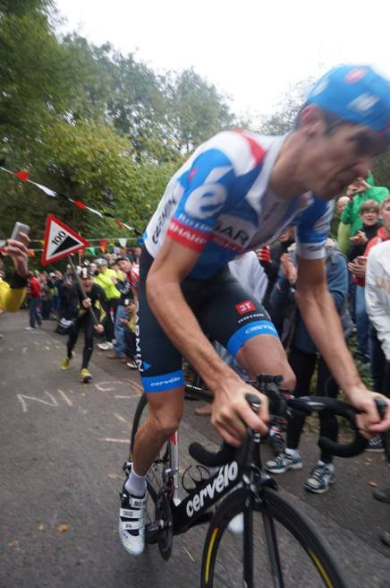 Puller pulls into 1st with Millar in 21st at Bec Hill Climb