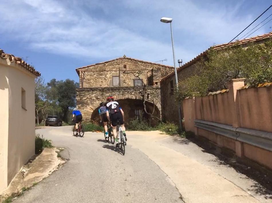 cycling in Girona