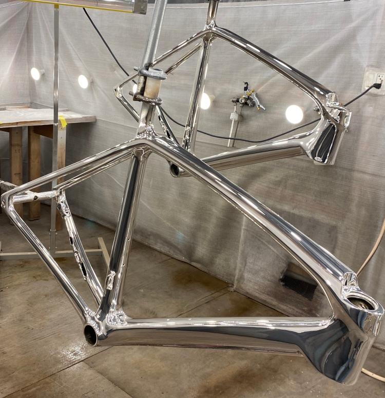 michelle arthurs brennan chrome bike frames feature