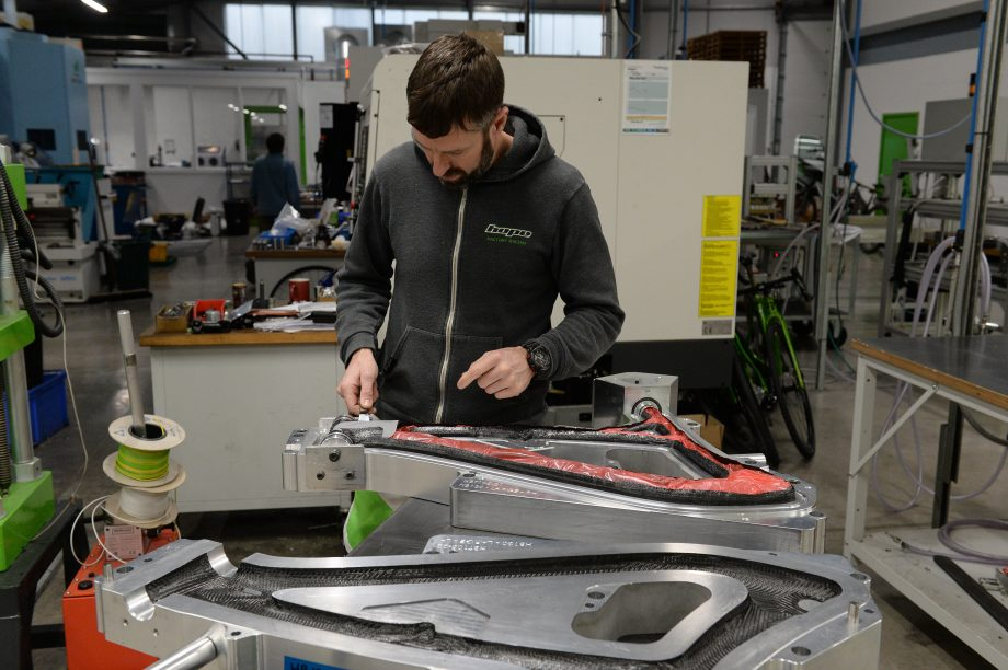 michelle arthurs brennan bike frame feature hope factory tour